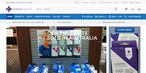 critical second ecommerce website