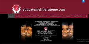 charity website